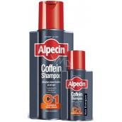 Alpecin Energizer Coffein Shampoo C1, Stimulates hair growth slows hereditary hair loss hair shampoo 250 ml + 75ml