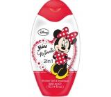 Disney Miss Minnie 2v1 Shower Gel and 300ml Shampoo