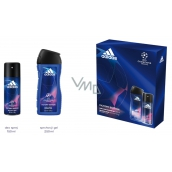 Adidas UEFA Champions League Victory Edition 150 ml men's deodorant spray + 250 ml shower gel