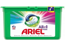 Ariel 3in1 Color gel capsules for colored laundry protect and enliven the colors of 35 pieces 945 g