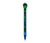 Colorino Rubber pen Marvel Hulk blue, blue refill 0.5 mm