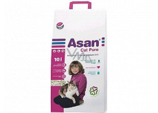 Asan Cat Pure ecological litter for short-haired cats, kittens and ferrets 10 l