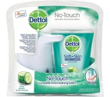 Dettol Freshness Cucumbers touchless soap dispenser, movement + refill with soap 250 ml