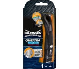 Wilkinson Quattro Titanium Precision razor 1 piece and 1 spare head