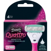 Wilkinson Quattro for Women spare heads 3 pieces