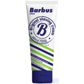 Barbus Sport foaming shaving cream with chlorophyll tube 75 g