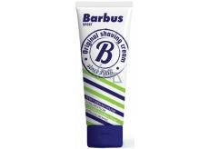 Barbus Sport foaming shaving cream with chlorophyll tube 75 g