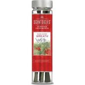 ScentSicles Scented Ornaments vonný závěs na stromek Snow Berry Wreath - Věnec z červených bobulí 6 kusů