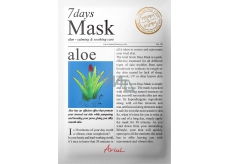 Ario Aloe A soothing face mask with a 20 g aloe