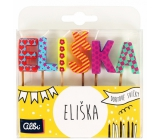 Albi Cake candles name - Eliška, 2.5 cm
