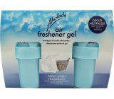 Akolade Air Freshener Fresh Linen solid gel air freshener 2 x 150 g