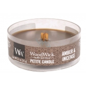 WoodWick candle petite Amber & Incense 2105