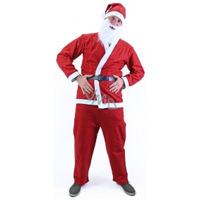 Santa Claus without a beard