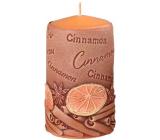 Emocio Cinnamon Cinnamon scented candle cylinder 60 x 110 mm