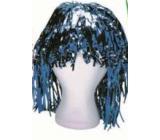 Paruka lametová alu krátká modrá