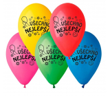 """Balloons """"Happy Birthday"""", 26 cm, 10 pieces in a package, mix of colors"""