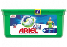 Ariel All in 1 Pods Active Deo-Fresh gel capsules for laundry 30 pieces 753 g
