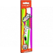 Y-Plus Star Neon graphite pencil with rubber triangular 8 mm 6 piece mix neon colors
