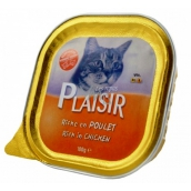 Plaisir Cat Chicken tray 100 g