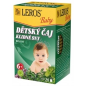 Leros Baby Peaceful Dreams herbal tea for children 20 x 1.5 g
