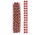 Chain red, decorative 1 x 75 cm