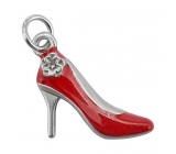Yankee Candle Charming Scents metal pendant in the shape of a red shoe for a car tag High Heel