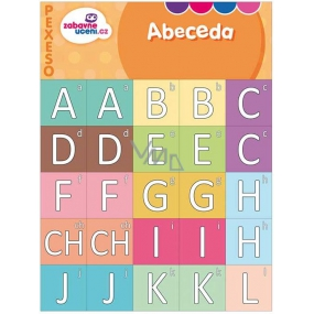 Ditipo Alphabet fun learning memory game getting to know the letters of 27 pairs of pictures