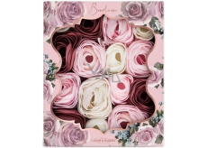 Baylis & Harding Boudoire Velvet rose and cashmere scented soap leaves, cosmetic set