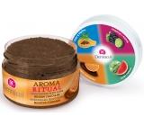 Dermacol Aroma Ritual Belgian chocolate harmonizing body peeling 200 g