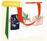 Nekupto Gift paper bag luxury 23 x 18 cm Gifts WLFM