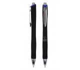 Spoko Panther Nature ballpoint pen, Easy Ink, black, blue refill 0.5 mm