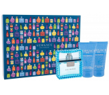 Versace Eau Fraiche Man Eau de Toilette for Men 50 ml + After Shave Balm 50 ml + Shower Gel 50 ml, Gift Set
