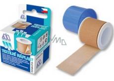 Mediplast textilní náplast cívka 1,25 cm x 5 m 1 kus krabička