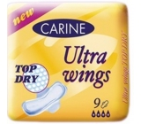 Carine Ultra Wings Top Dry intimate pads 9 pieces