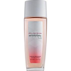 Celine Dion Sensational Perfume Deodorant Glass for Women 75 ml Tester