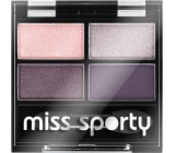 Miss Sporty Studio Colour Quattro Eye Shadow oční stíny 402 Smoky Green Eyes 3,2 g