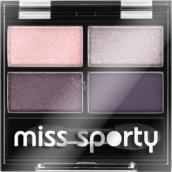 Miss Sporty Studio Colour Quattro Eye Shadow oční stíny 402 Smoky Green Eyes 3,2 g