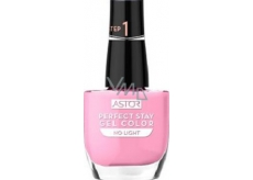 Astor Perfect Stay Gel Color gelový lak na nehty 004 Pink Sunset 12 ml