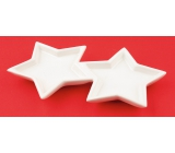 Ceramic stars for decoration 17 cm
