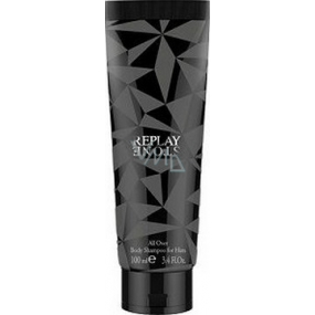Replay Stone for Him sprchový gel 100 ml