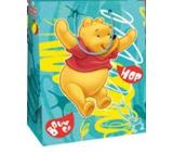 Ditipo Disney Dárková papírová taška dětská M Medvídek Pú, Hop 18 x 10 x 22,7 cm