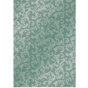 Ditipo Christmas wrapping paper gray-green lace pattern 100 x 70 cm 2061002 2 pieces
