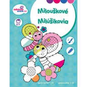 Ditipo Coloring Pages for Numbering Points Coloring 1-25 Dolls 5-7 years 16 pages 215 x 275 mm