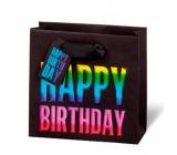 BSB Luxury gift paper bag 14.5 x 15 x 6 cm Happy Birthday LDT 397 - CD