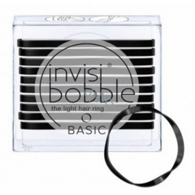 Invisibobble Basic True Black Ultra thin hair bands 10 black