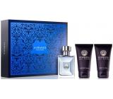Versace pour Homme EdT 50 ml men's eau de toilette + After Shave Balm 50 ml + Hair & Body Shampoo 50 ml, Gift Set