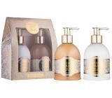 Vivian Gray Romance Sweet Vanilla liquid soap 250 ml + hand lotion 250 ml, cosmetic set