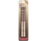 Nekupto Hobby wooden pencils Passionate cook 2 pieces