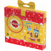 Pedigree Christmas package with treats for dogs, 237 g