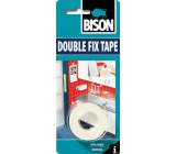 Bison Double Fix Tape oboustranná lepící páska 1,5 m x 19 mm